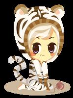 Pom-Pon Tiger by Abblecrumble
