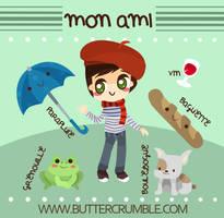 Mon Ami by Abblecrumble