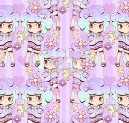 Bubblegum Pattern by Abblecrumble