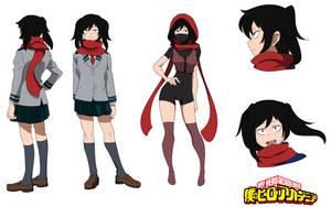 Shiori Momoko I BnHA OC by Nitus-sama