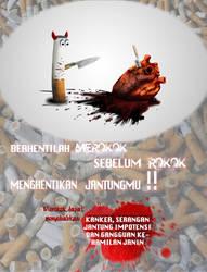Poster anti rokok by bandite