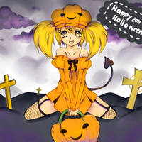 Happy halloween by AmiMochi