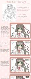 SAI hair tutorial by AmiMochi