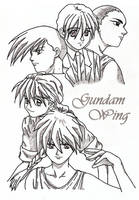 Gundam Wing by KrisRey