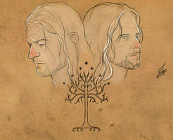 Lords or Gondor by Moumou38