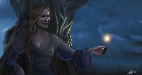 Galadriel, lady of light by Moumou38