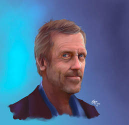 Hugh Laurie (+video) by Moumou38