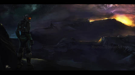 Halo : Last man standing by Moumou38