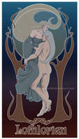 Art nouveau Lothlorien by Moumou38