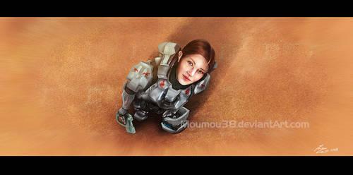 Commander Sarah Palmer by Moumou38