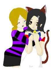 Me and Kandi by Vamp104