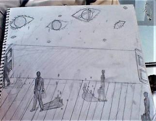 Surrealism Sketch by Vamp104