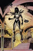 Venomverse She Venom  X3 Evil by aouubes