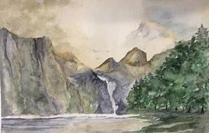 Mountain Lake by Jennyben