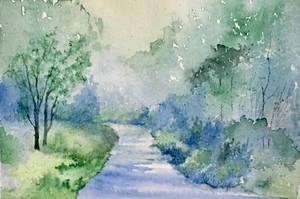 Blue River by Jennyben