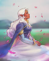 Voltron : Princess Allura (Unfinished) by yoyoleif-art