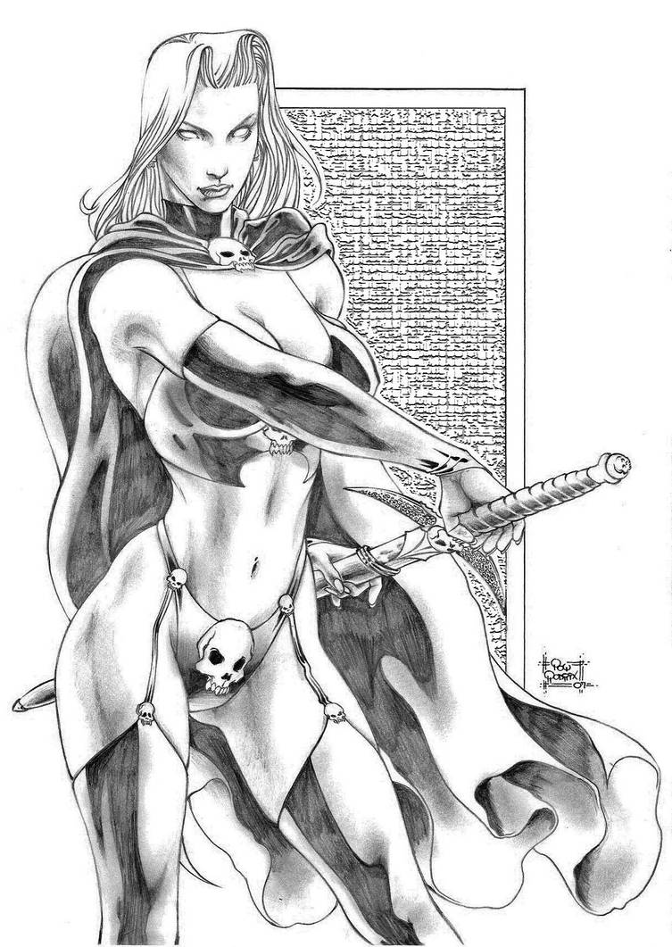 Lady Death by PowRodrix