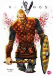 Bjorn from VIKINGS by PowRodrix
