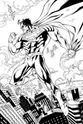 SUPERMAN OVER METROPOLIS 4 sale by PowRodrix