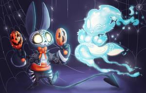 Halloween Kippling by CazadorR