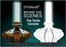 In Progress: Matt Smith TARDIS by dtdstudio