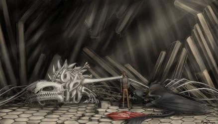 Fallen Dragon - new mystery by MeerDragon