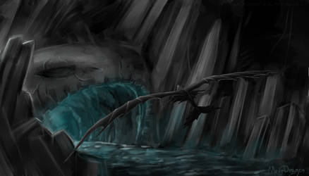 secret cave by MeerDragon