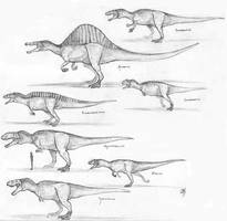 Theropod Study by tmac1kobe8vc15