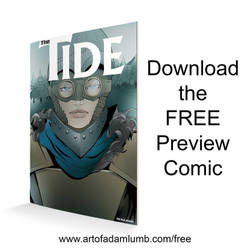 Download a FREE preview of my new comic THE TIDE by artofadamlumb