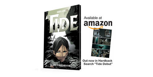 The Tide - my first book - Out Now by artofadamlumb
