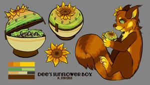 Dee's Sunflower Box by Kennaleecat