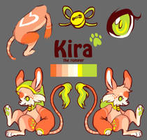 Kira Reference by Kennaleecat
