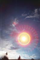 reflecting artifi sun by neonihil