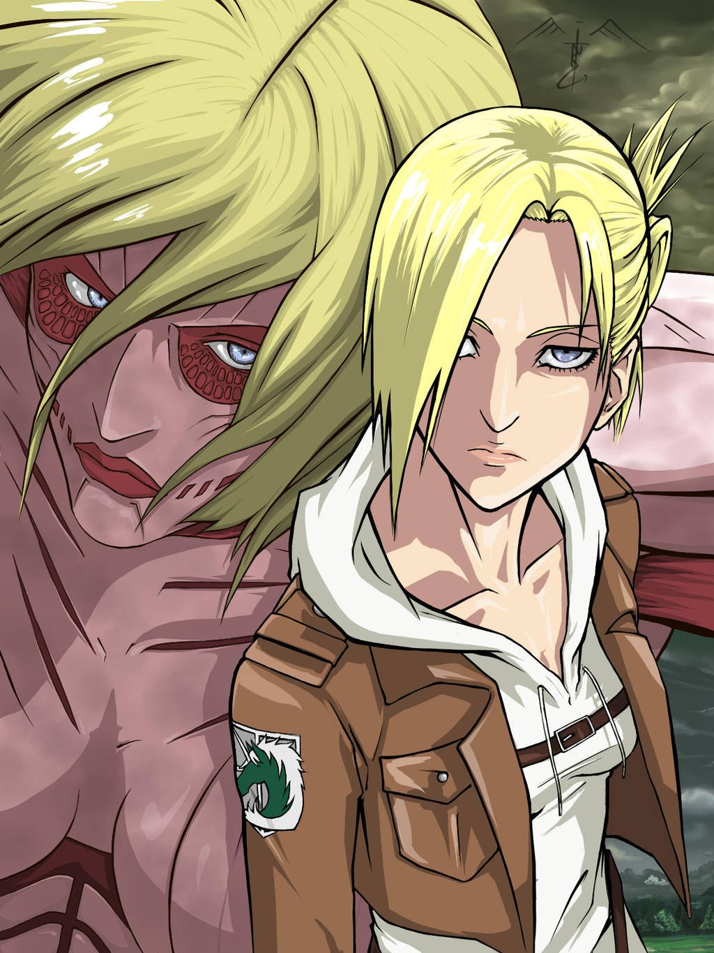 Annie Leonhardt The Female Titan by Lonirisme