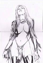 goblin queen very sexy by amorimcomicart