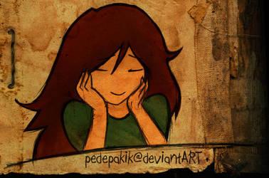 Jaine Daydreaming by pedepakik