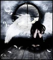 Despair of one angel by LadyPingu