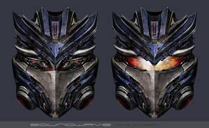 Soundwave Movie Head Design by MitGas