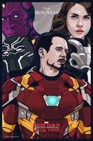 Captain America Civil War #teamironman by dicky10official