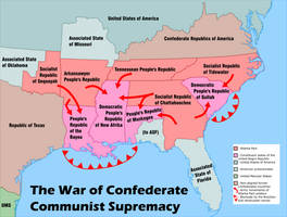 4th Confederate War by MoralisticCommunist