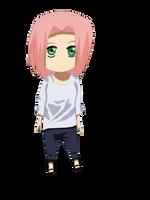 Sakura Chibi by Cherry-hime-chan