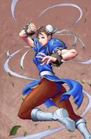 Chun Li by Wosuko-San