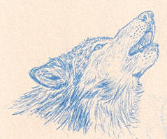 Howling Wolf by Wosuko-San