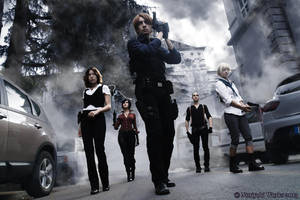 Resident Evil 6 (Lucca 2013) 01 by Noriyuki83