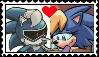Jules X Bernadette Stamp by ameth18