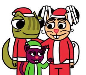 Family Christmas by ameth18