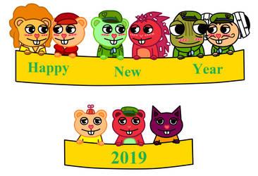 Happy New Year 2019 by ameth18