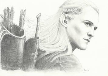 Legolas one last time sm by Powerfulwoodelf