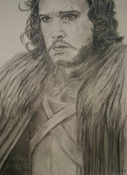 Jon Snow 1 by Powerfulwoodelf