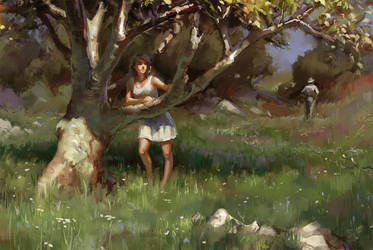 Green Grass Goodbye by Wildweasel339